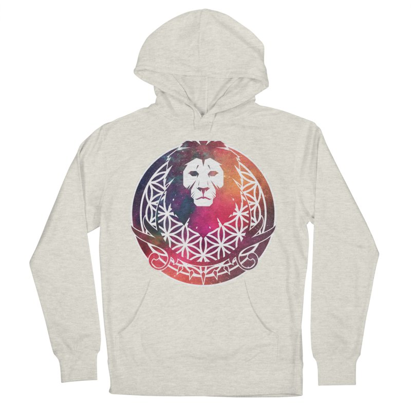 Cosmic Lion Women's Pullover Hoody by donvagabond's Artist Shop