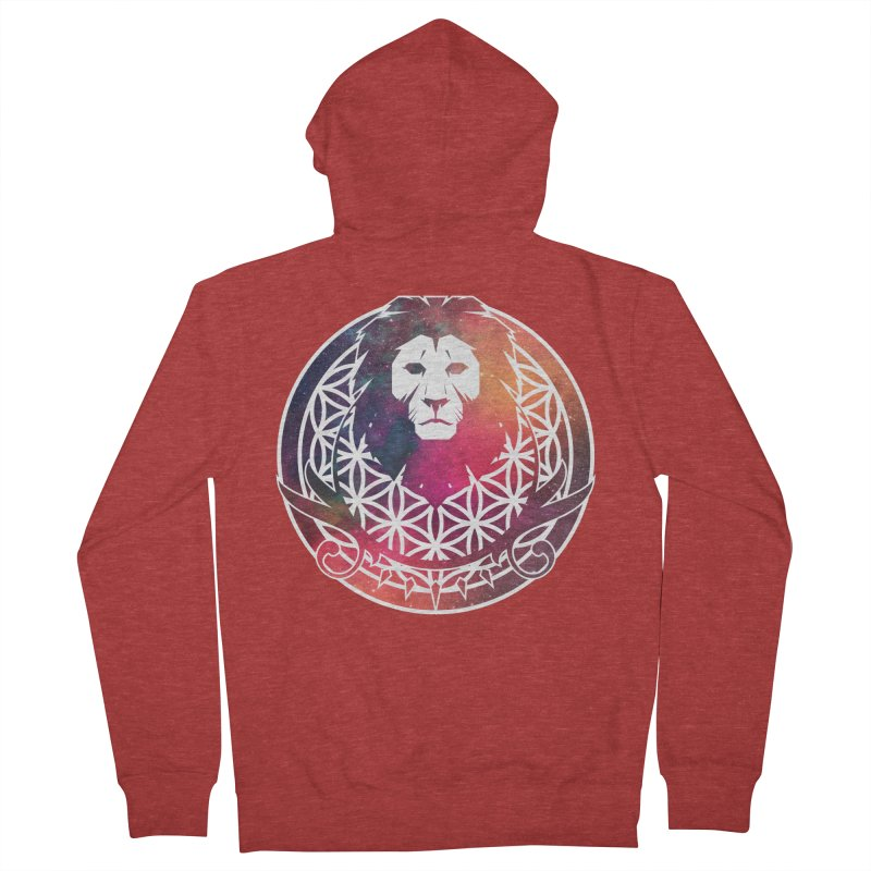 Cosmic Lion Women's Zip-Up Hoody by donvagabond's Artist Shop