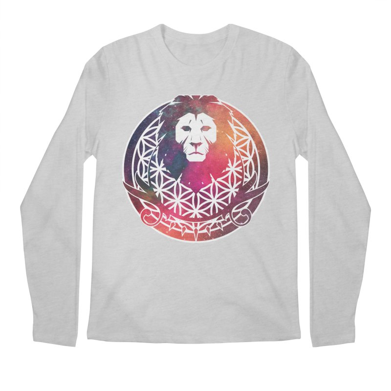 Cosmic Lion Men's Longsleeve T-Shirt by donvagabond's Artist Shop