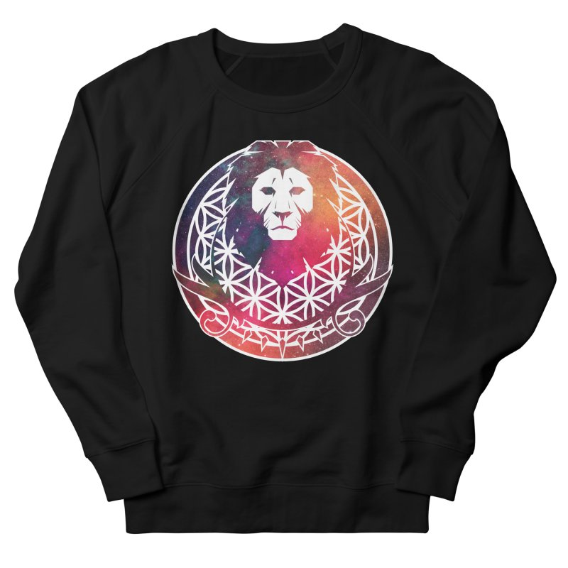Cosmic Lion Women's Sweatshirt by donvagabond's Artist Shop