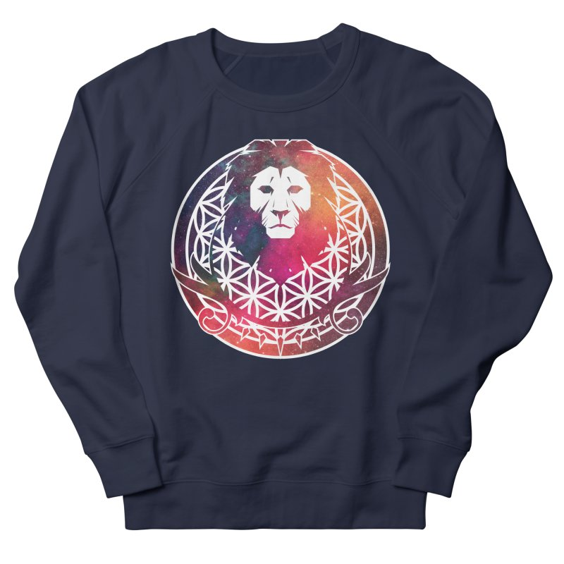 Cosmic Lion Women's Sweatshirt by donvagabond's Artist Shop