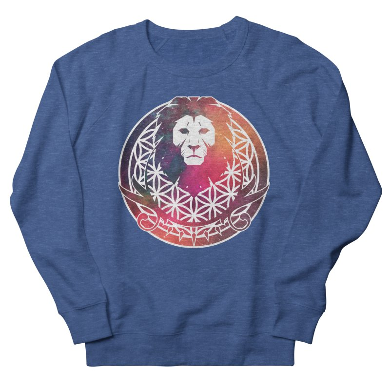 Cosmic Lion Men's Sweatshirt by donvagabond's Artist Shop