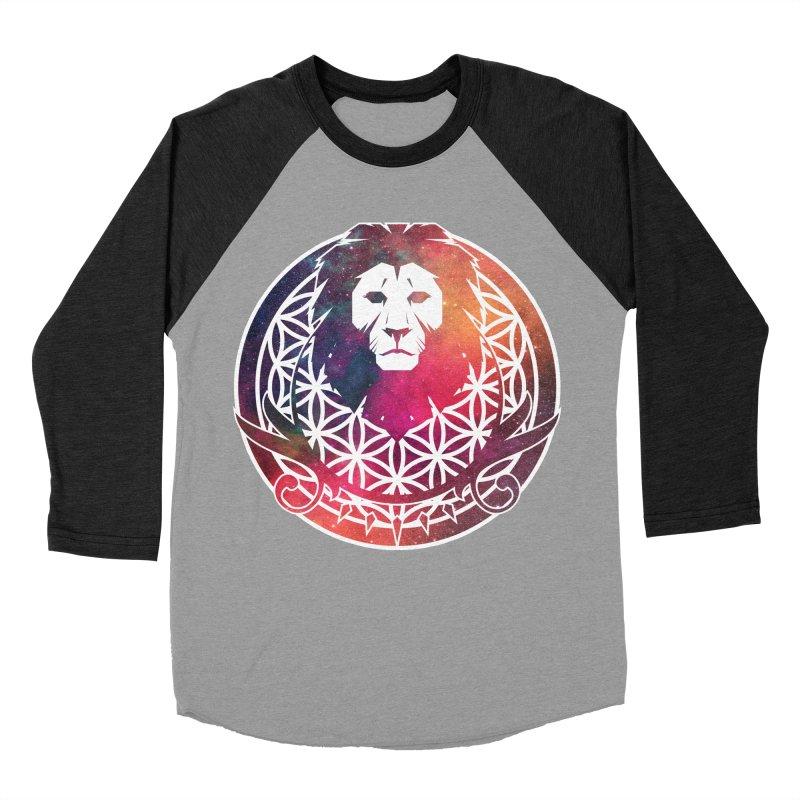 Cosmic Lion Women's Baseball Triblend T-Shirt by donvagabond's Artist Shop