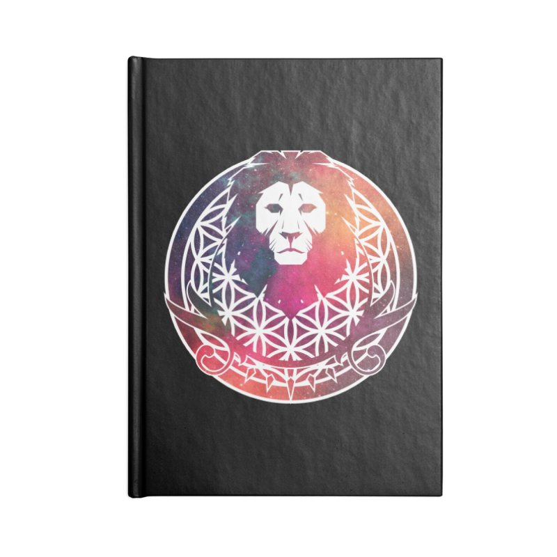 Cosmic Lion Accessories Notebook by donvagabond's Artist Shop