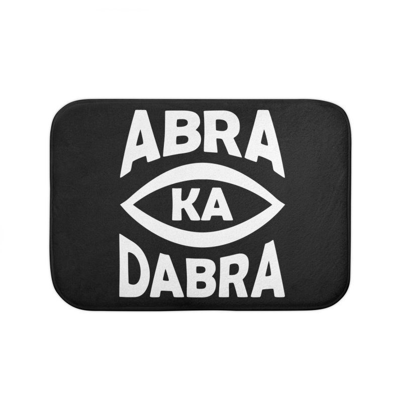Abrakadabra Home Bath Mat by Don Vagabond's Artist Shop