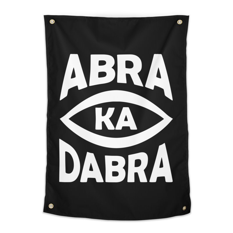 Abrakadabra Home Tapestry by Don Vagabond's Artist Shop