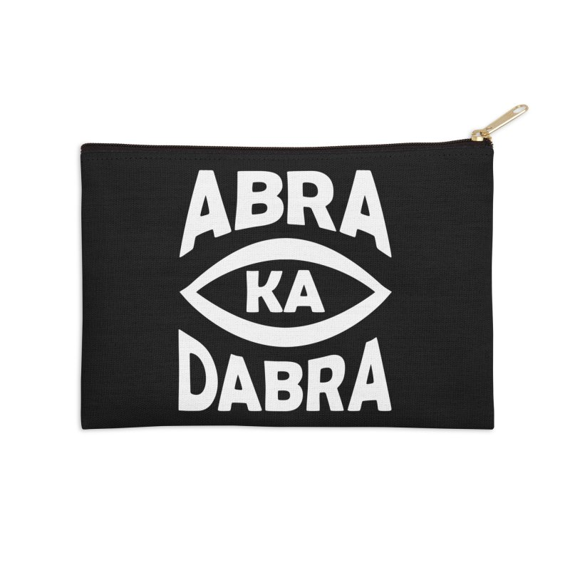 Abrakadabra Accessories Zip Pouch by donvagabond's Artist Shop