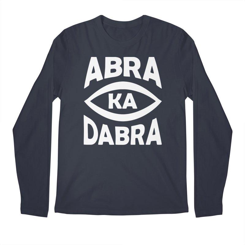 Abrakadabra Men's Regular Longsleeve T-Shirt by donvagabond's Artist Shop