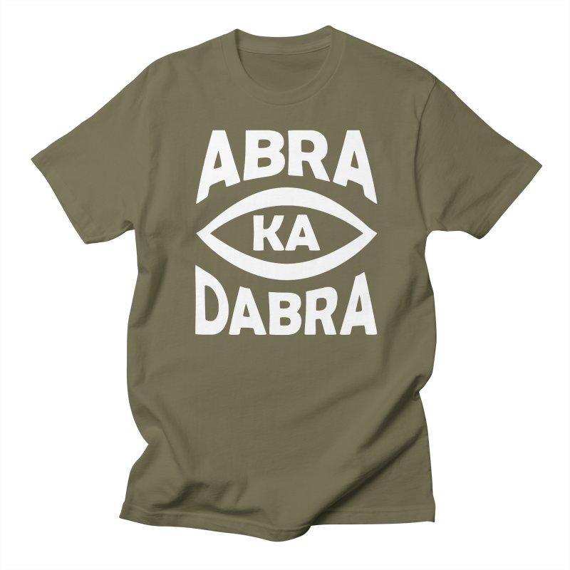Abrakadabra Men's Regular T-Shirt by donvagabond's Artist Shop