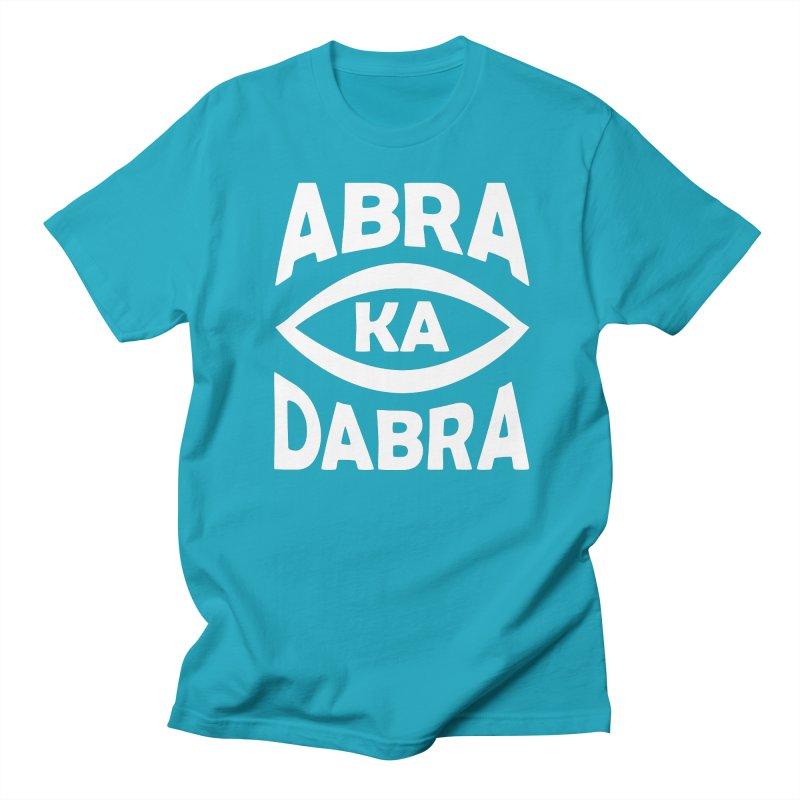 Abrakadabra Women's Regular Unisex T-Shirt by Don Vagabond's Artist Shop