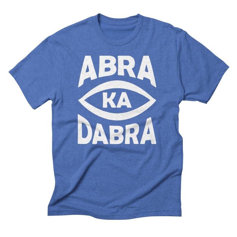 Abrakadabra Men's Triblend T-Shirt by donvagabond's Artist Shop