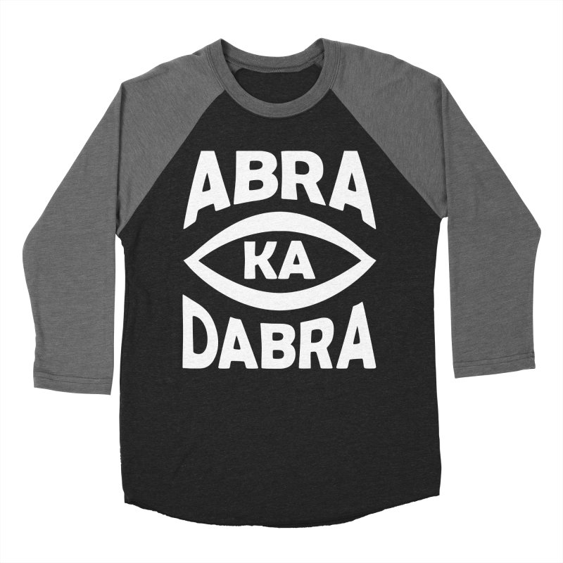 Abrakadabra Men's Baseball Triblend Longsleeve T-Shirt by donvagabond's Artist Shop