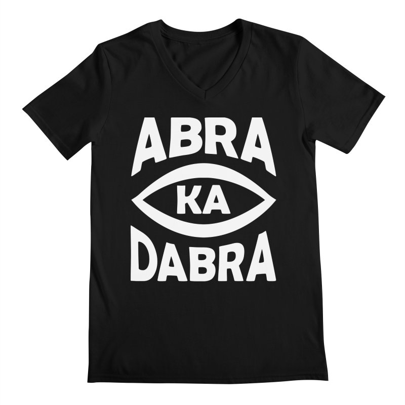 Abrakadabra Men's Regular V-Neck by donvagabond's Artist Shop