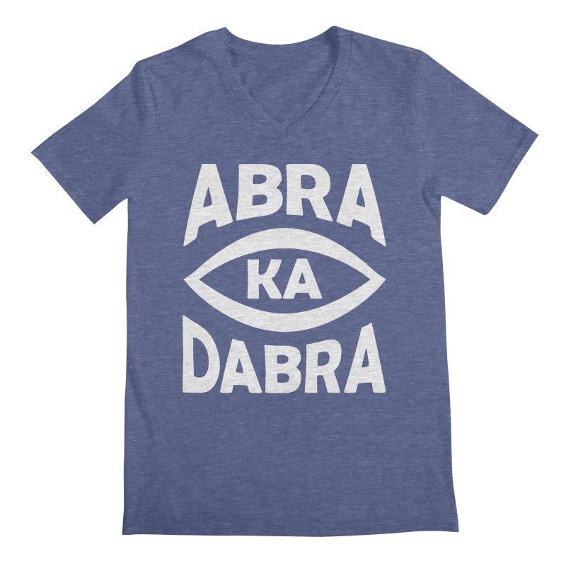 Abrakadabra Men's V-Neck by donvagabond's Artist Shop