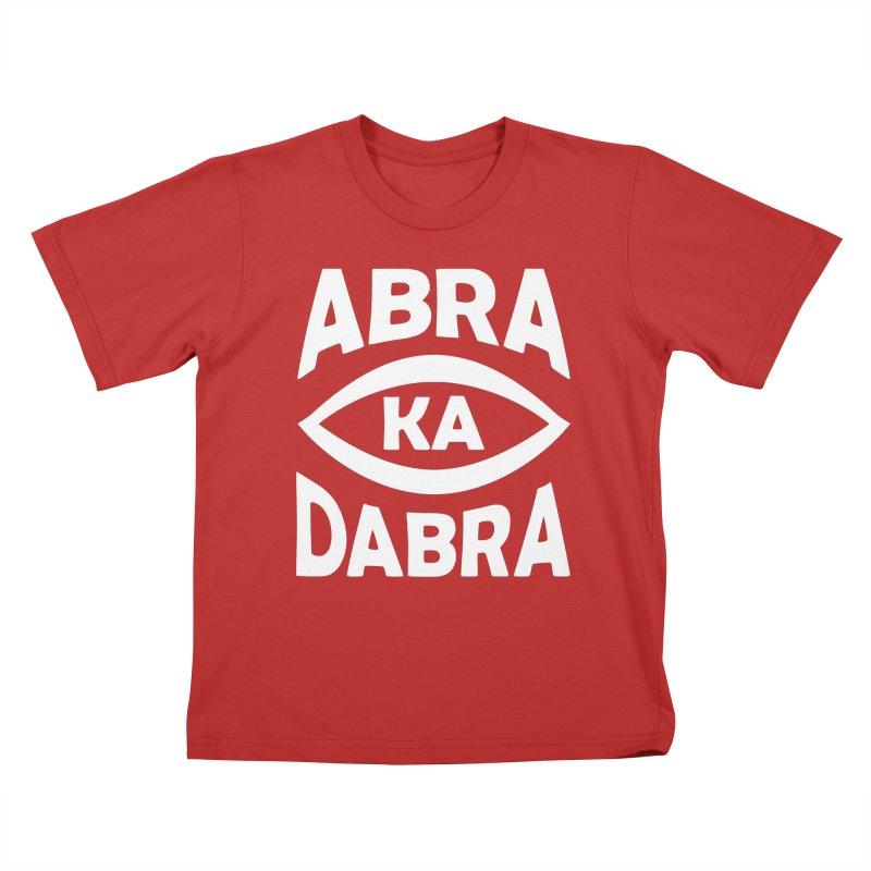 Abrakadabra Kids T-Shirt by Don Vagabond's Artist Shop