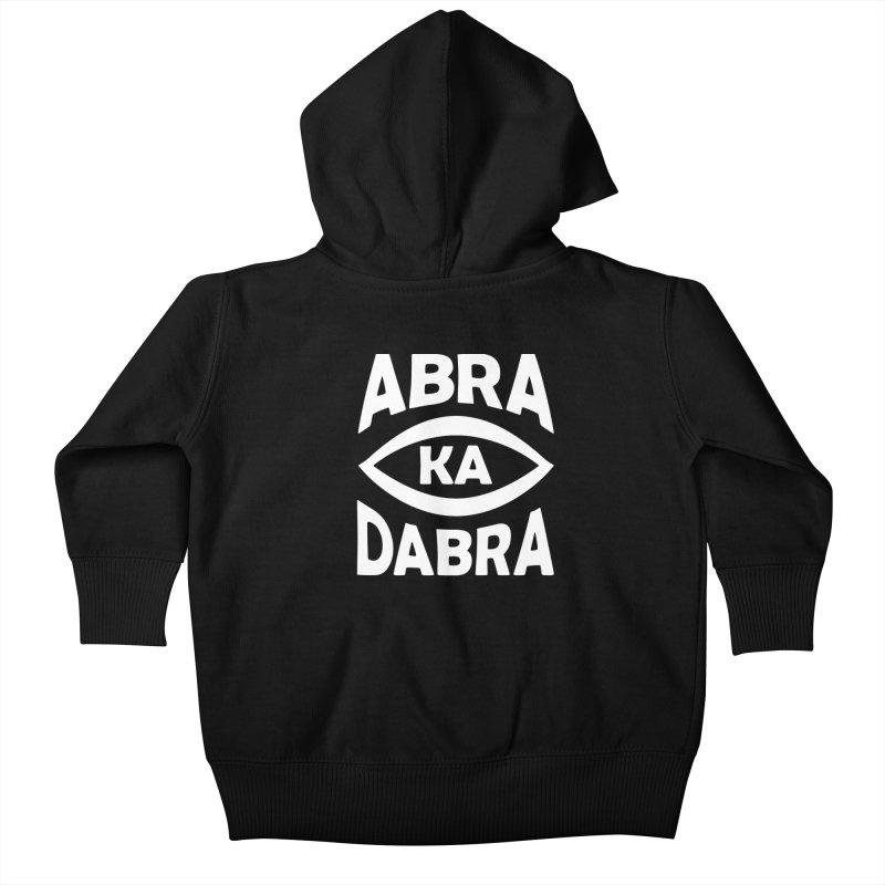 Abrakadabra Kids Baby Zip-Up Hoody by donvagabond's Artist Shop