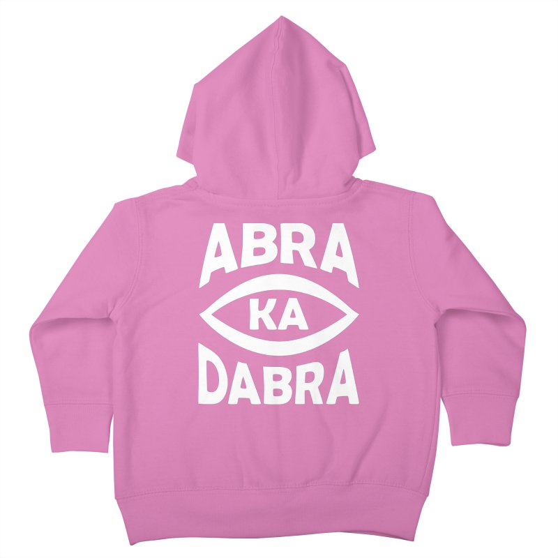 Abrakadabra Kids Toddler Zip-Up Hoody by donvagabond's Artist Shop