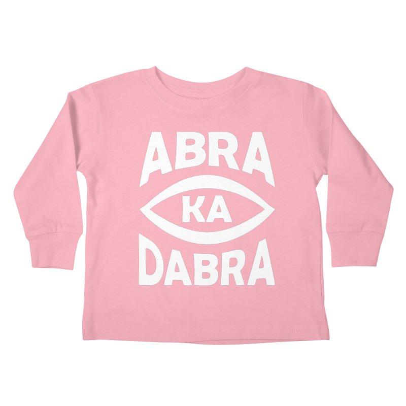 Abrakadabra Kids Toddler Longsleeve T-Shirt by Don Vagabond's Artist Shop