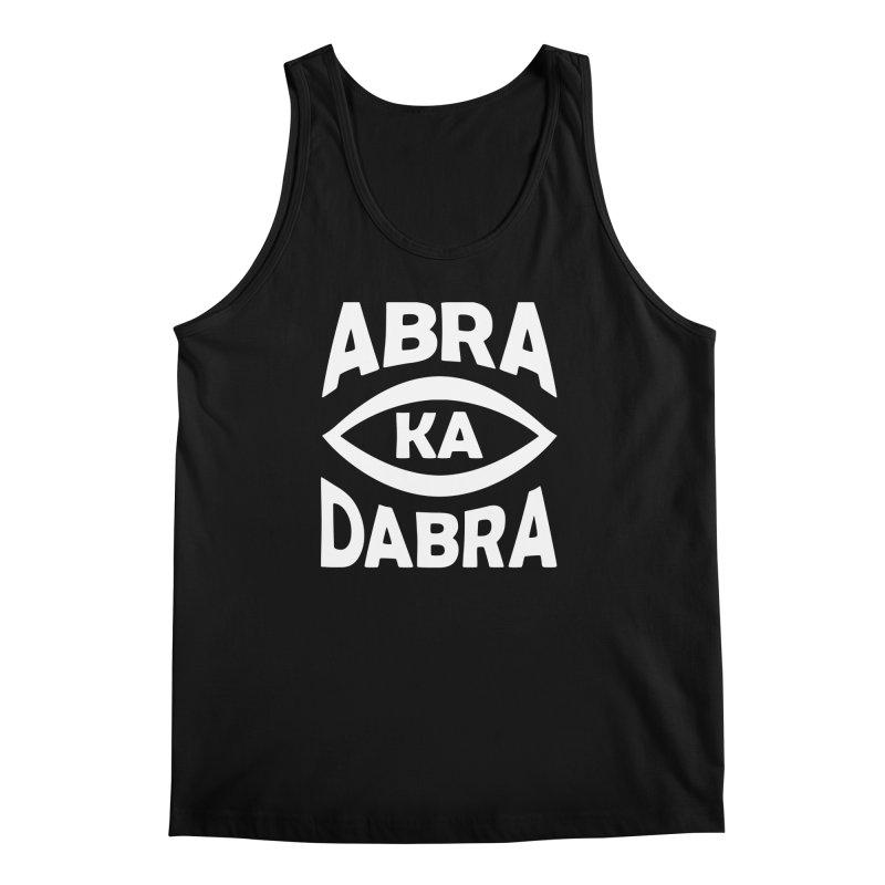 Abrakadabra Men's Regular Tank by donvagabond's Artist Shop