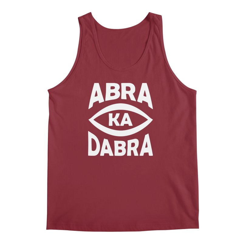 Abrakadabra Men's Tank by donvagabond's Artist Shop