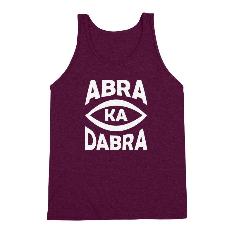 Abrakadabra Men's Triblend Tank by donvagabond's Artist Shop