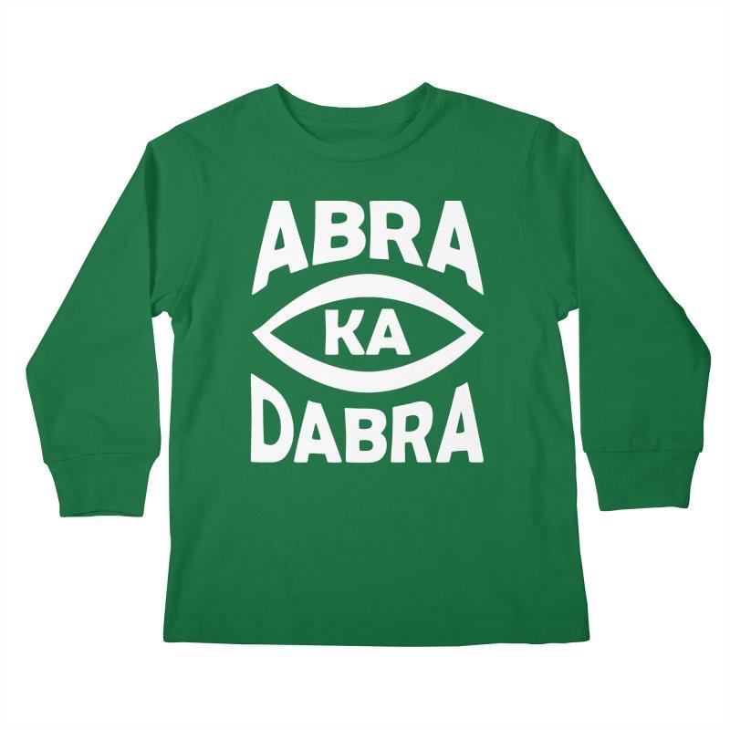 Abrakadabra Kids Longsleeve T-Shirt by Don Vagabond's Artist Shop