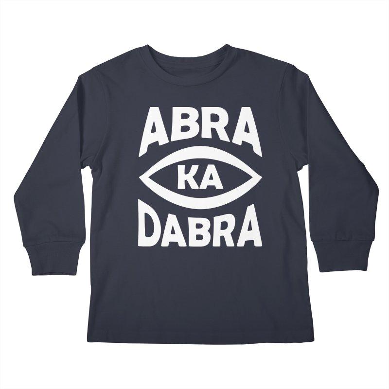 Abrakadabra Kids Longsleeve T-Shirt by donvagabond's Artist Shop