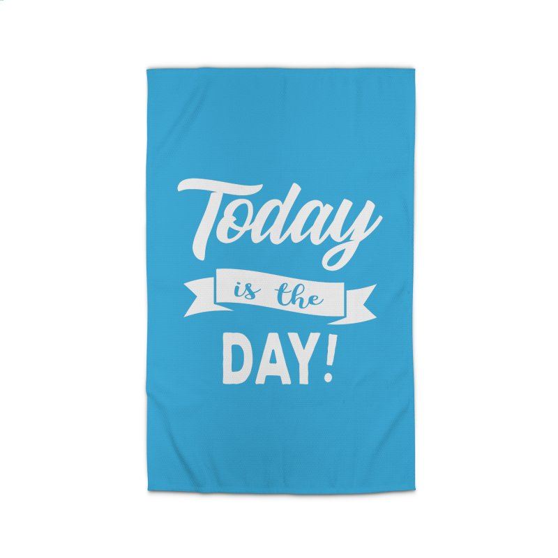 Today is the day! Home Rug by Don Vagabond's Artist Shop