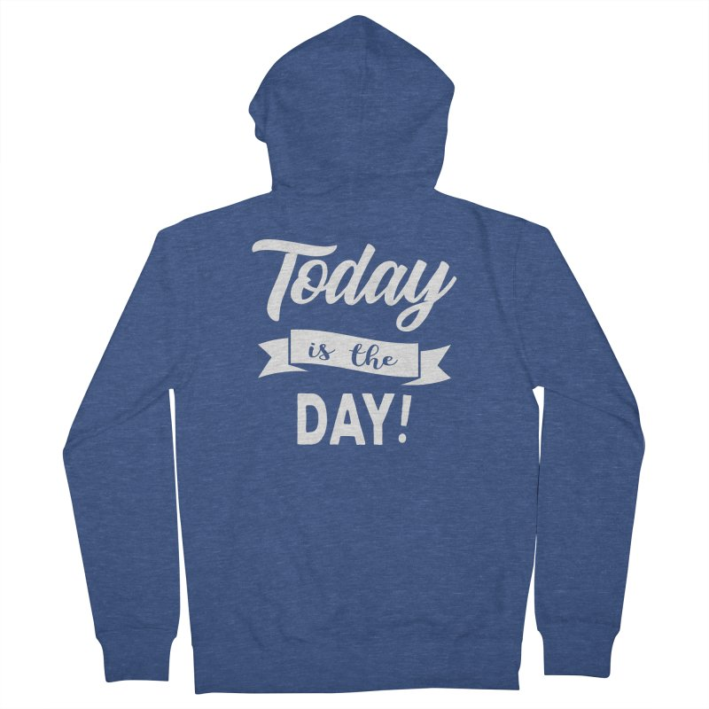 Today is the day! Men's French Terry Zip-Up Hoody by Don Vagabond's Artist Shop