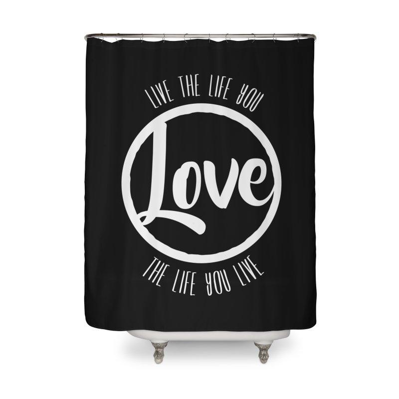 Love is Life Home Bath Mat by donvagabond's Artist Shop
