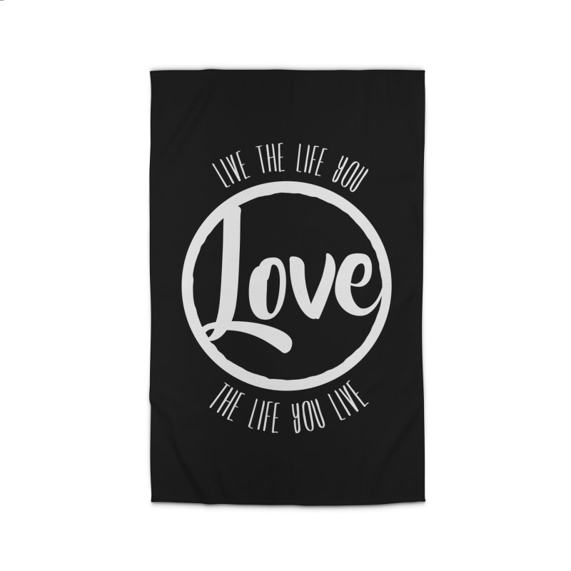 Love is Life Home Rug by donvagabond's Artist Shop