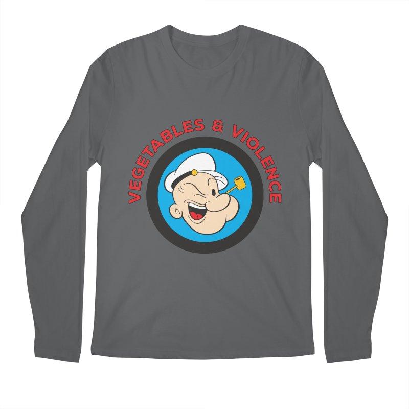 Vegetables & Violence Men's Regular Longsleeve T-Shirt by donvagabond's Artist Shop