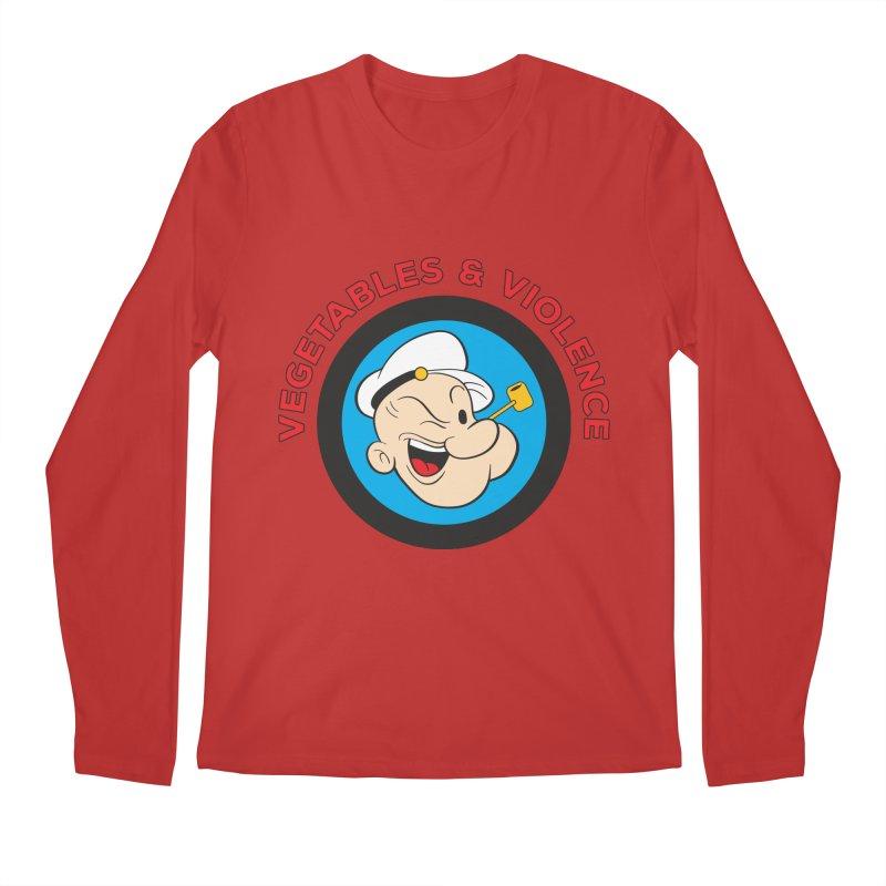 Vegetables & Violence Men's Regular Longsleeve T-Shirt by Don Vagabond's Artist Shop