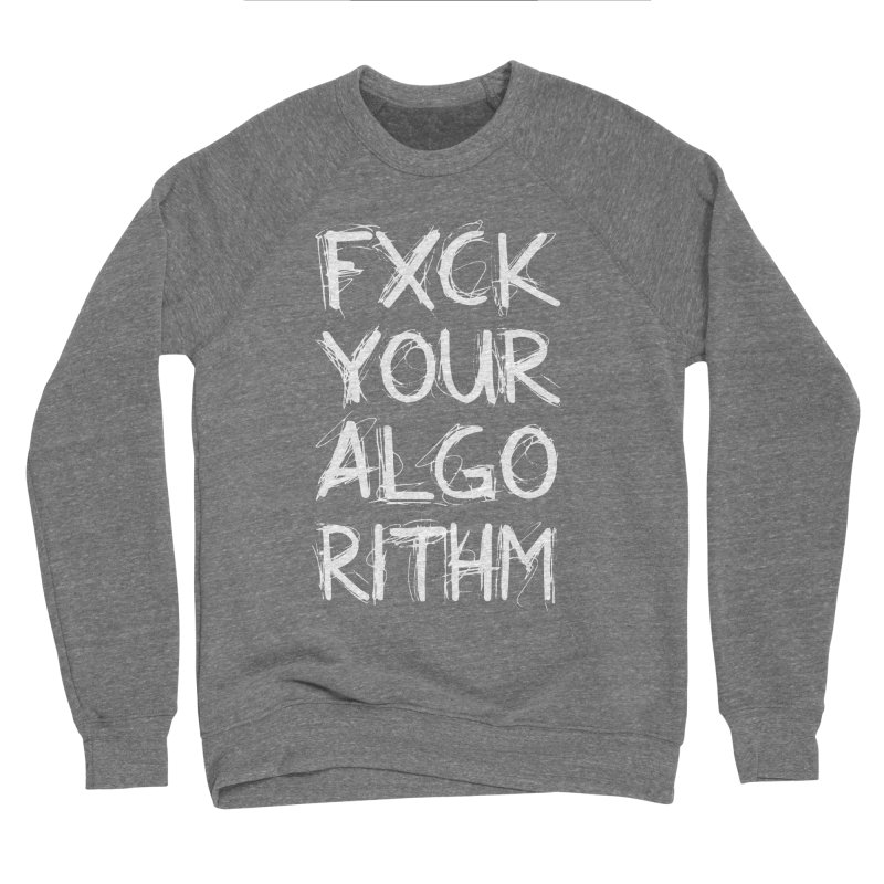 Algorithm Women's Sponge Fleece Sweatshirt by Don Vagabond's Artist Shop