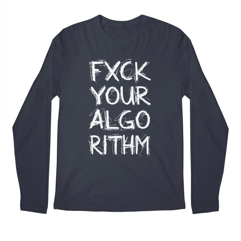 Algorithm Men's Regular Longsleeve T-Shirt by Don Vagabond's Artist Shop