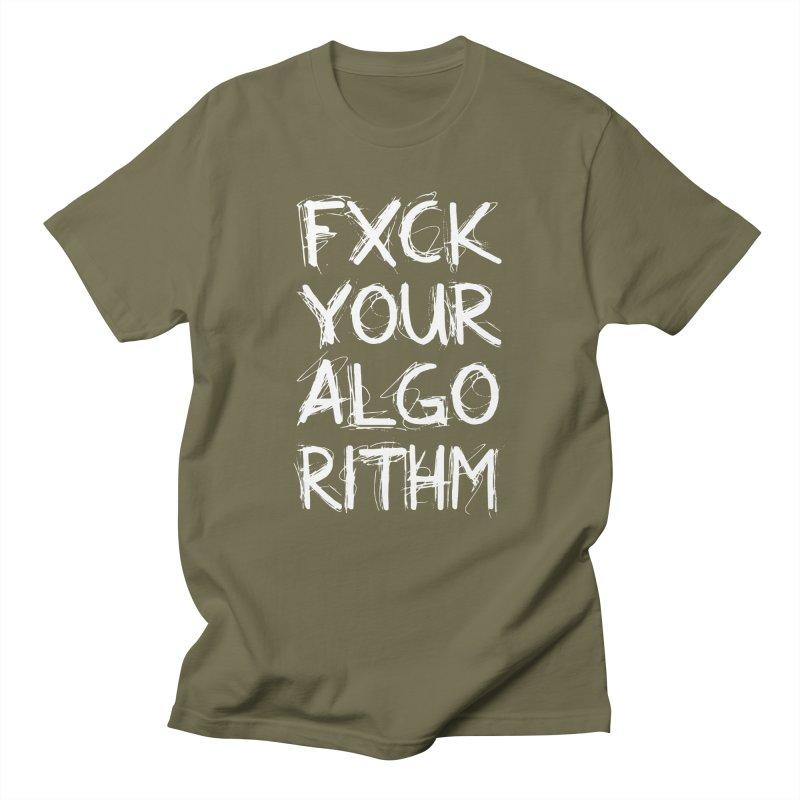 Algorithm Men's Regular T-Shirt by donvagabond's Artist Shop