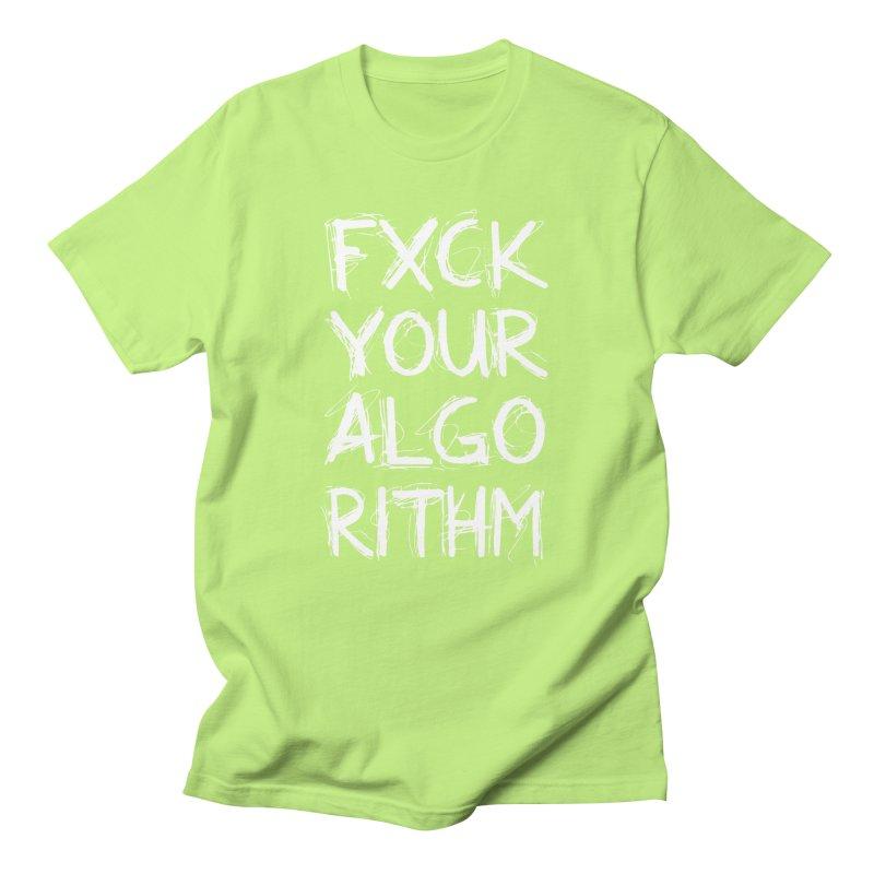 Algorithm Women's Regular Unisex T-Shirt by Don Vagabond's Artist Shop