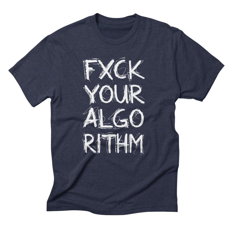 Algorithm Men's Triblend T-Shirt by Don Vagabond's Artist Shop