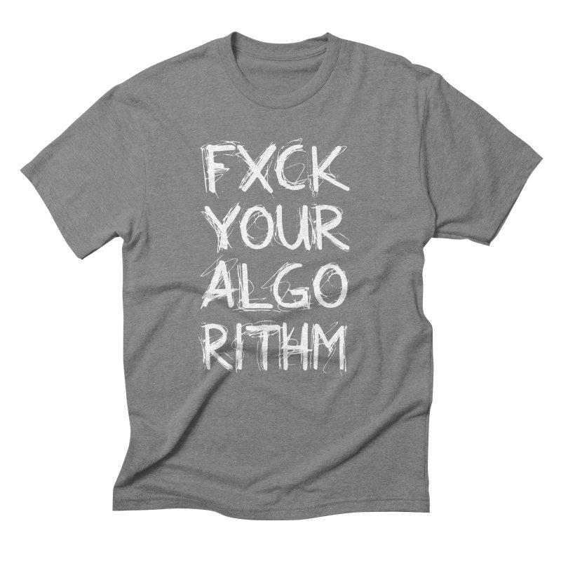 Algorithm Men's Triblend T-Shirt by donvagabond's Artist Shop
