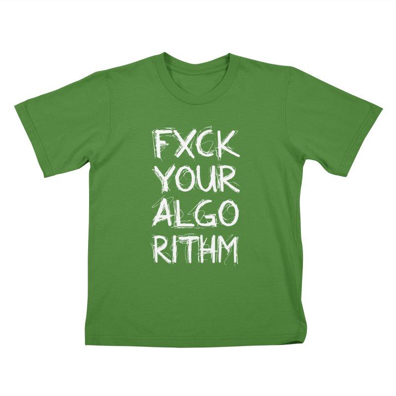 Algorithm Kids T-Shirt by donvagabond's Artist Shop