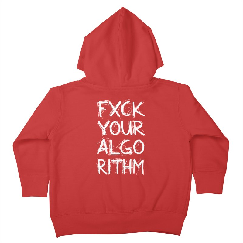 Algorithm Kids Toddler Zip-Up Hoody by Don Vagabond's Artist Shop