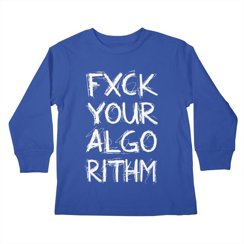 Algorithm Kids Longsleeve T-Shirt by Don Vagabond's Artist Shop