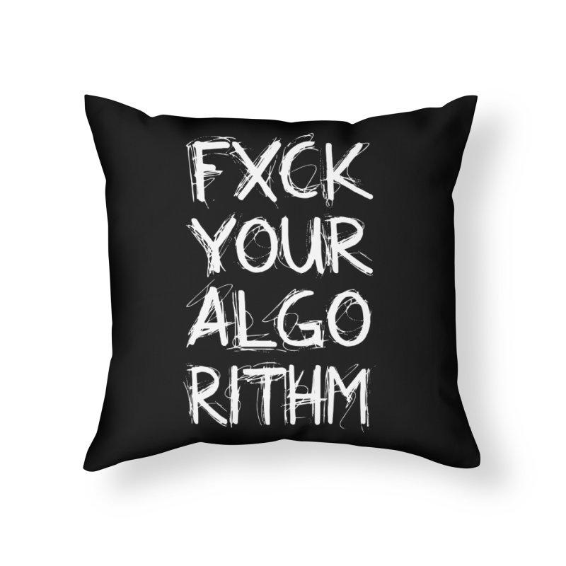 Algorithm Home Throw Pillow by donvagabond's Artist Shop