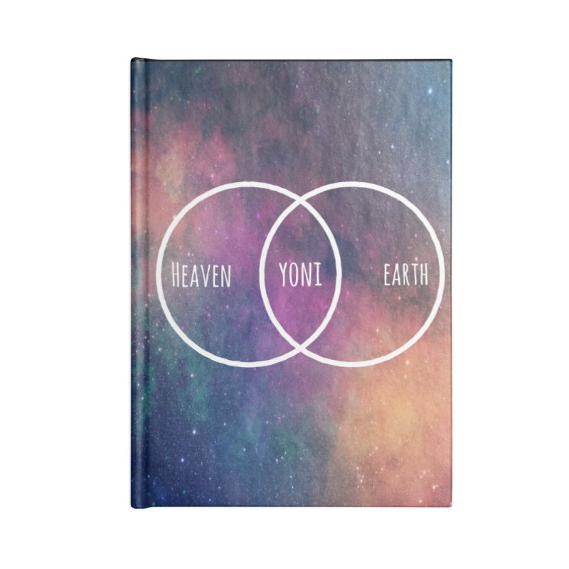 Heaven on Earth Accessories Lined Journal Notebook by Don Vagabond's Artist Shop