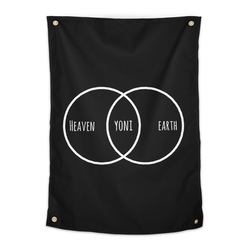 Heaven on Earth Home Tapestry by donvagabond's Artist Shop