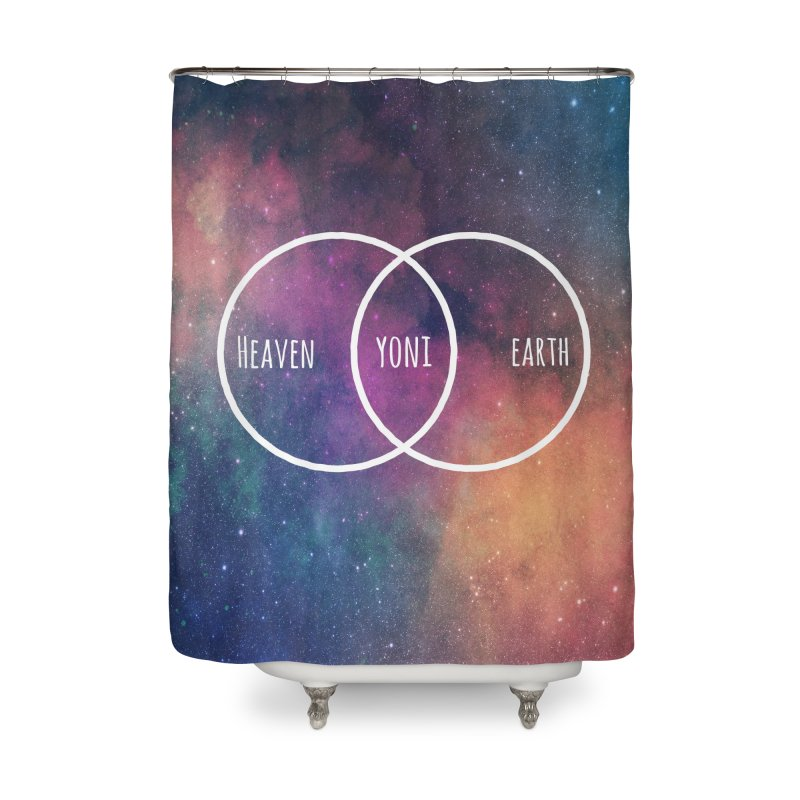 Heaven on Earth Home Shower Curtain by donvagabond's Artist Shop