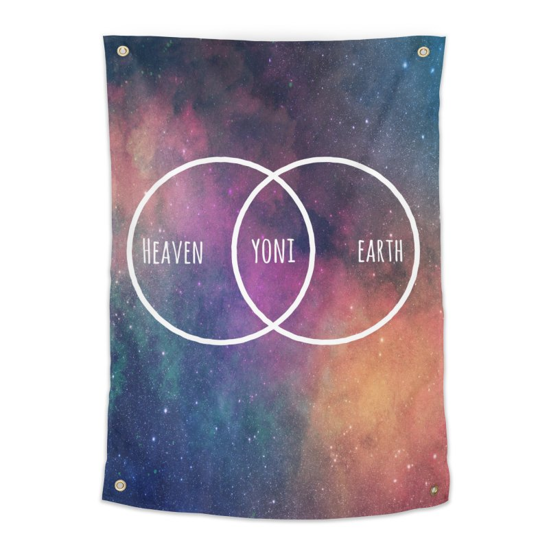 Heaven on Earth Home Tapestry by Don Vagabond's Artist Shop