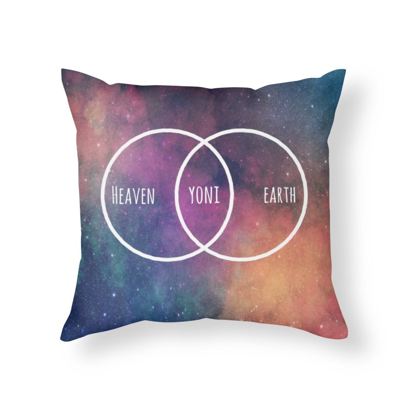Heaven on Earth Home Throw Pillow by donvagabond's Artist Shop