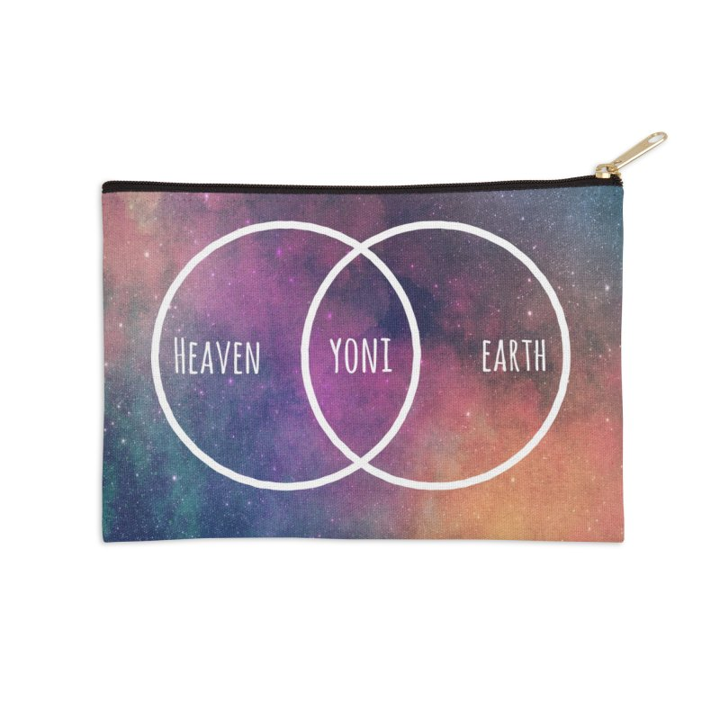 Heaven on Earth Accessories Zip Pouch by donvagabond's Artist Shop