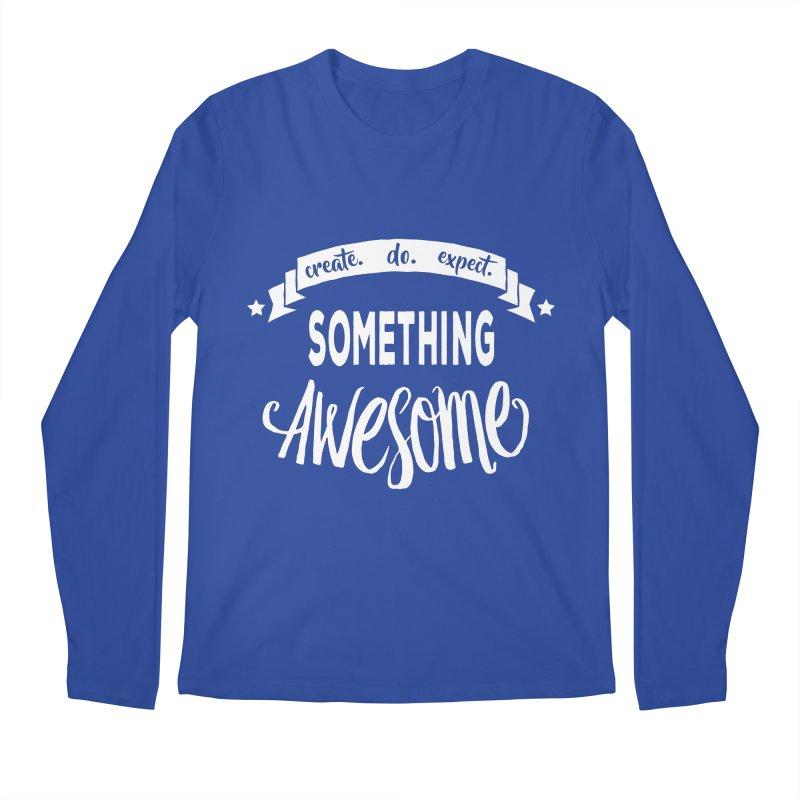 Something Awesome Men's Regular Longsleeve T-Shirt by donvagabond's Artist Shop